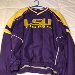 LSU pull over